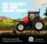 Red Tractor has got more pulling power
